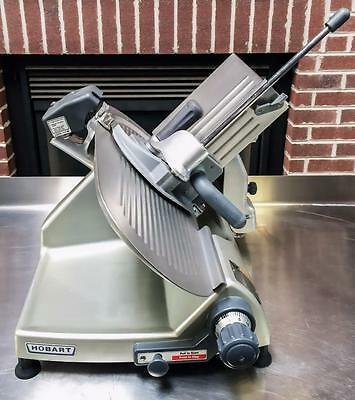 """Hobart 2812 Commercial Manual Gravity Feed Meat Cheese Deli Slicer - 12"""" Blade"""