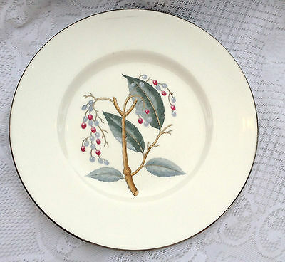 Royal Worcester 'Elderberry' Dinner Plate 10 1/2 inches (619)