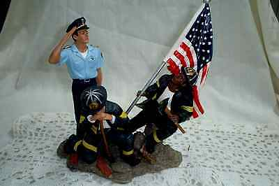 Home Interiors Pocketful Of Hope Firefighter, Police, First Responders, Figurine