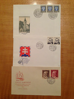 Lot of 3 FDC