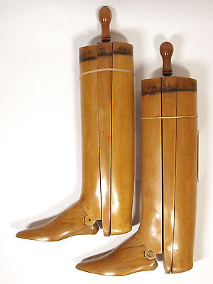 A Vintage Pair Of Boot Trees - Made By Faulkner