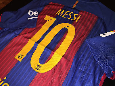 Barcelona Authentic Messi Jersey Size Xl *christmas Price 40% Off
