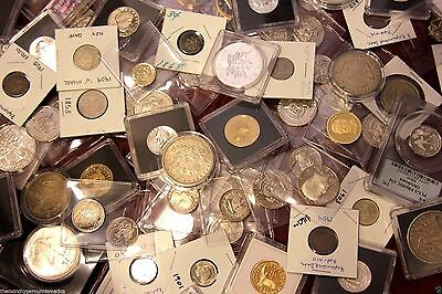USA World Foreign Coin Estate Sale Silver Bar Proof Currency Key Date Error Lot