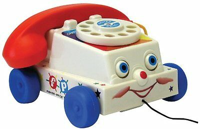 Fisher Price Classic Chatter Phone New