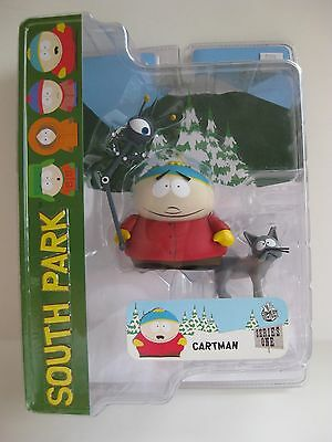 2005 South Park Mezco Series 1 **CARTMAN ALIEN PROBE ** Action Figure NIB