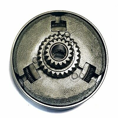 Complete Tomos A3 moped clutch assembly first and second gear clutches bell
