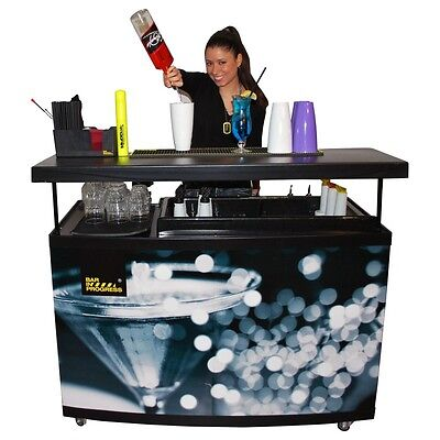 Station cocktail barman equipment barman -bartending abs Workspace 130cm