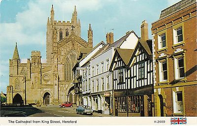 The Cathedral From King Street, HEREFORD, Herefordshire