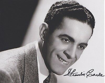 Signed Original B&W Photo of Frankie Carle of 1950's Recordings