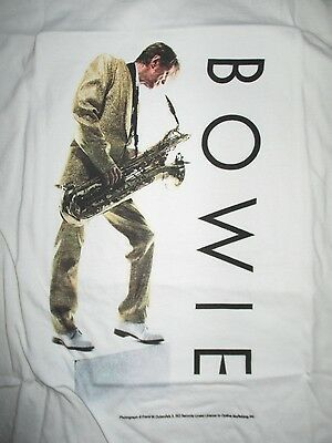 Retro 2009 DAVID BOWIE Photographed by Frank Ockenfels (XL) T-Shirt ZIGGY