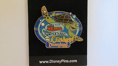 Disneyland Resort Finding Nemo AAA Vacations - Turtle Talk With Crush #4 Pin