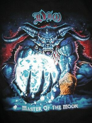 "2004 DIO ""Master of the Moon"" Concert Tour (MED) Shirt Jeff Pilson Simon Wright"