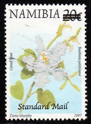 2005 Namibia Sc #1071 Standard Mail Surcharge on 20c Defin, VF Used, SCV $75.00