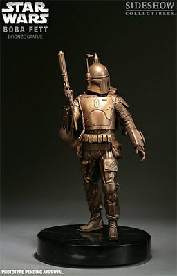 Sideshow Star Wars Boba Fett Bronze Statue 59 of 75