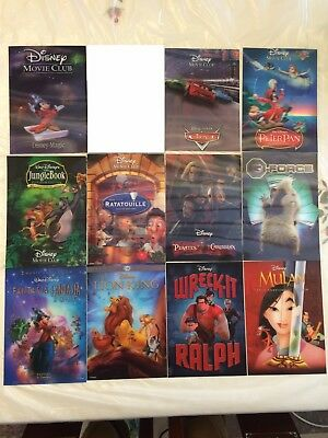 Disney Movie Club 3D Lenticular Card 14x includes Welcome Mickey 1st Card Ever!!