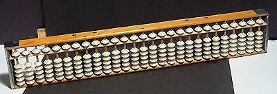 Wood Abacus with 2 Silver Stars