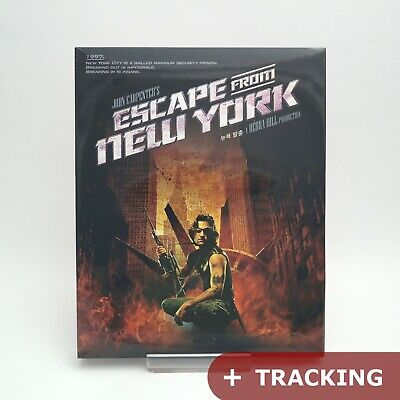 Escape From New York (2016, Blu-ray) Slip Case Edition
