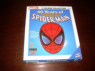 40 Years Of The Amazing Spider-Man 11-disc CD-ROM collection of 500+comic books