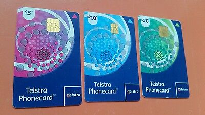 Setx3 Telstra  Replacement phonecards