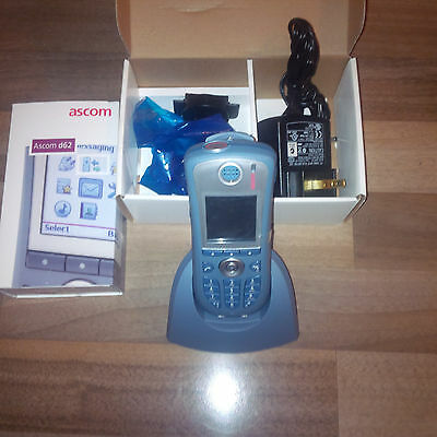 ASCOM D62 BT (like Aastra DT690 BT) DH4-ADAA/2A Dect Phone + charger  NEW!