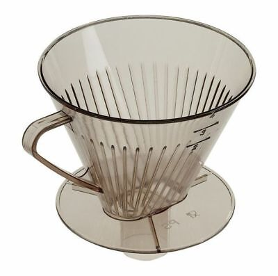 Westmark Coffee Filter Cone with Long Spout - Suitable for Travel Flasks - 4 Cup