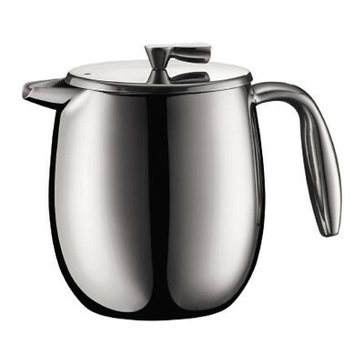 Bodum Columbia - Insulated French Press Coffee Maker - Stainless Steel