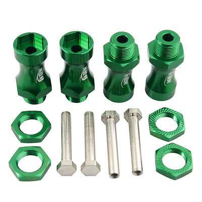 RC Green Wheel Hex Driver 12mm Turn 17mm Hex Adapter 30mm Extension For Truck