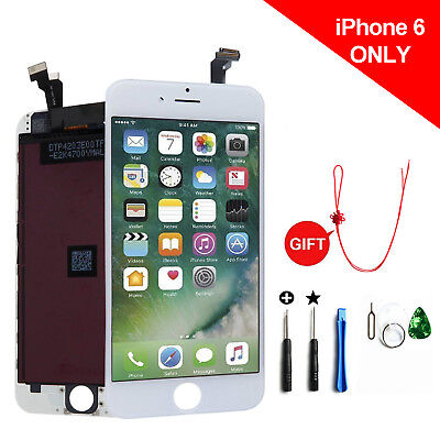 A+++ White LCD Display Touch Screen Digitizer Assembly  Replacement For iPhone 6