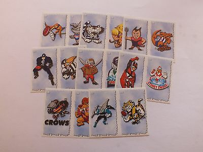 2000 Official Afl Sticker Collection X 16 Mint