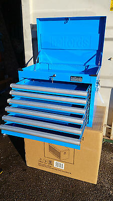 Halfords Tool Box/Top Box,Brand New,Halfords Industrial 6 Drawer Ball Bearing