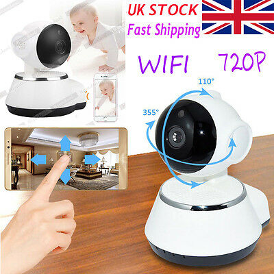 WIFI Smart Wireless IP Camera Full HD 720P Mobile iPhone & Android Night Vision