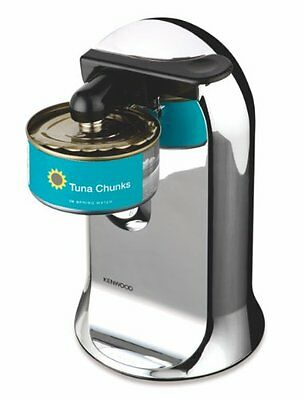 3-in-1 Electric Can Opener Knife Sharpener and Bottle Opener 40W Chrome