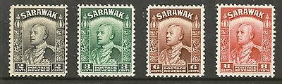 Sarawak 1934 issue low value selection mm