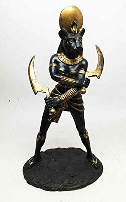 EGYPTIAN SUN GODDESS STATUE FIGURINE Ornament Mantlepiece Birthday gift decor