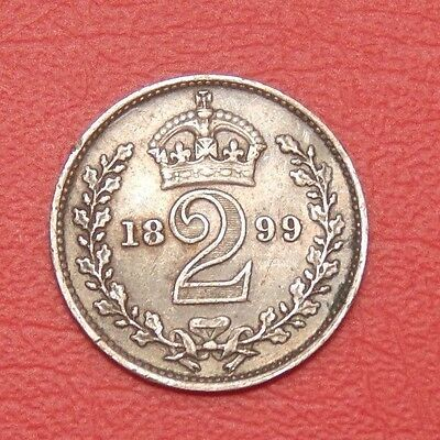 1899 Victoria maundy odds 2d
