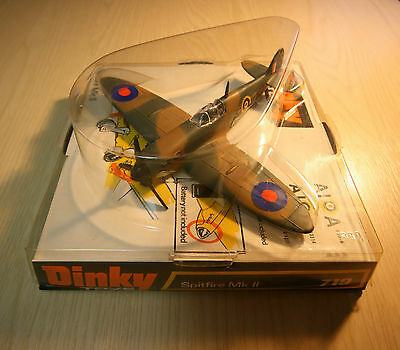Dinky Toys Spitfire MK II 719 Exceptional Condition