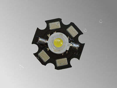 Power LED mit Starplatine Hochleistungsled 3W HIGH neutralweiß