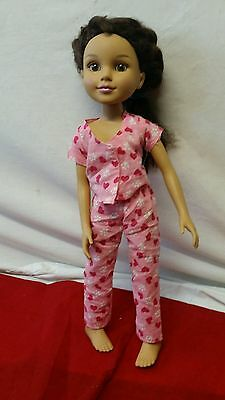 MGA Entertainment BFC Best Friends Club doll 2009 Brown hair brown eye Jointed 2