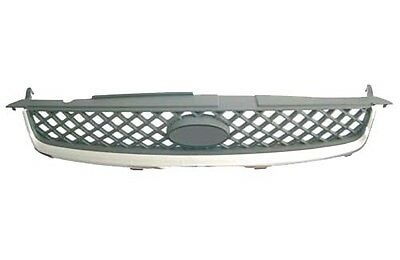 Fiesta Mk6 2005 - 2008 Front Top Radiator Grille Brand New With Chrome Surround
