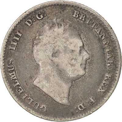 [#415760] Great Britain, William IV, 4 Pence, Groat, 1836, Silver, KM:711