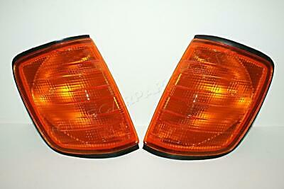 86-95 MERCEDES W124 Turn Signal Lights Euro AMBER