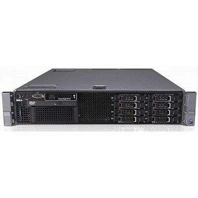 DELL PowerEdge R710 Server 2X Quad Core 2.53GHz 72GB RAM 2X300GB 10K PERC6i