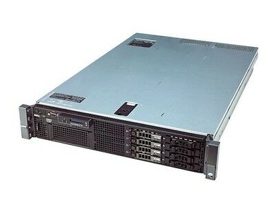 DELL PowerEdge R710 Server 2X Quad Core 2.53GHz 72GB RAM 4X146GB 10K PERC6i
