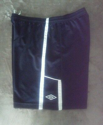 Umbro Youth Black Athletic Shorts Size XL - Drawstring