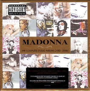 Madonna - The Complete Studio Albums 1983 - 2008 11CD 2012 NEW/SEALED