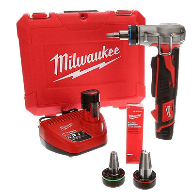 12 Volt Cordless M12 ProPEX Expansion Tool Kit Open Box Milwaukee 2432-22
