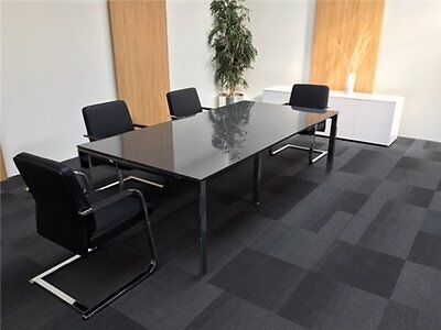 New High Gloss Boardroom Meeting Office Table