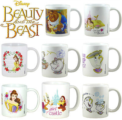 Official DISNEY BEAUTY AND THE BEAST BOXED MUG 1991 MOVIE  Belle Mrs Potts Chip