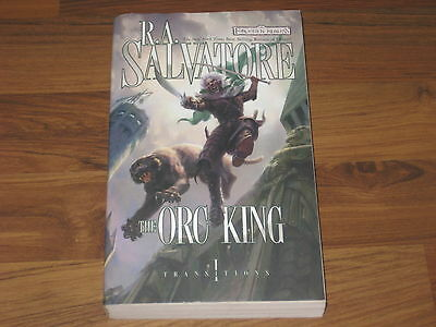 Forgotten Realms Novel The Orc King Transitions, Book I WotC 2008