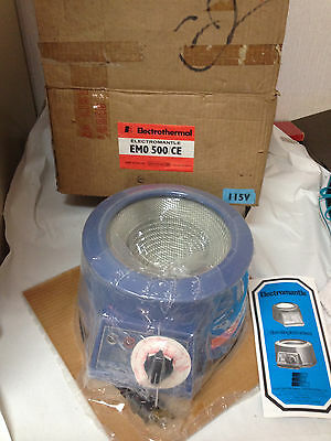 FACTORY SEALED Electromantle Electrothermal Laboratory Heating Mantle 500ml